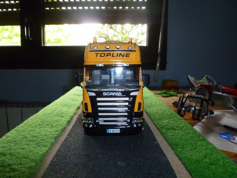 Scania r620 modif rampe de toit