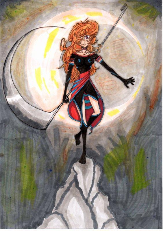 une gardienne de la lune