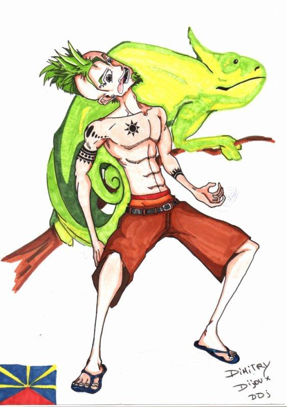 """manga """"style réunionnais"""""""