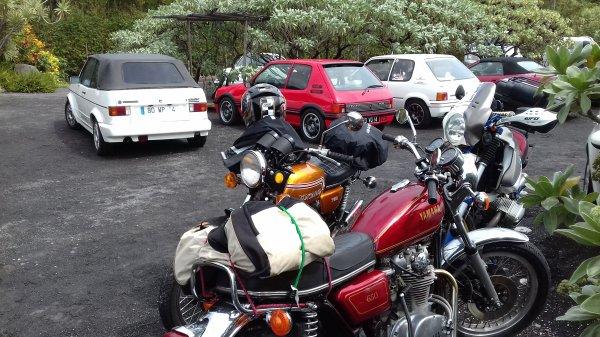 9ème tour de l'ile historique auto et moto, quelques photos du samedi
