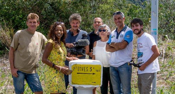 restauration d'une borne pour tournage TV 5 Monde : vendredi 08 septembre 2017