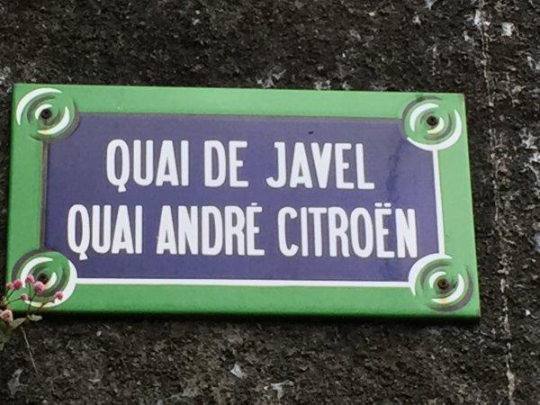 Clin d'Oeil en cette année du centenaire Citroën