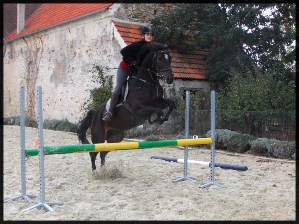 Seance de sauts avec Lucie