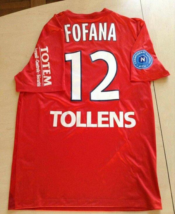 195ième maillot Nama FOFANA