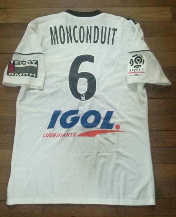 242 ième maillot porté par Thomas MONCONDUIT