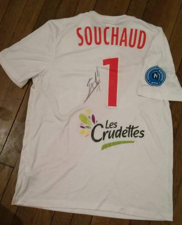 244 ième maillot porté par Louis SOUCHAUD