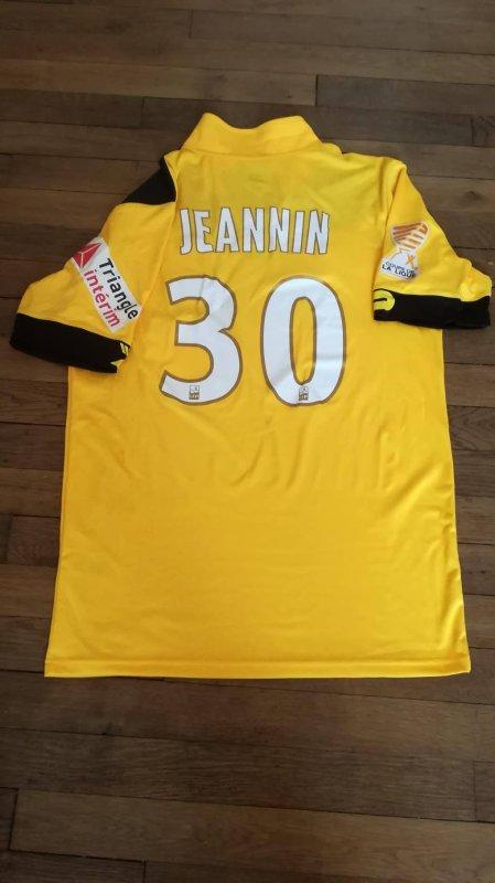 247 ième maillot porté par Mehdi JEANNIN