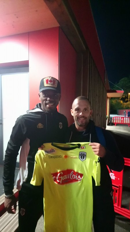292ième maillot porté par Abdoulaye BAMBA à DIJON