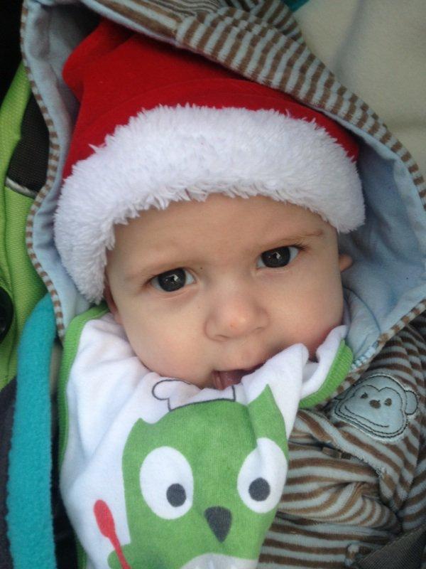 La naissance de mon fils le 22 juillet 2012