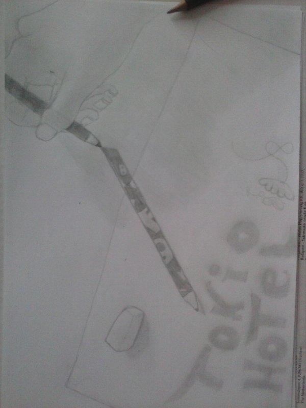 Mes deux passions, Tokio Hotel et le dessin.