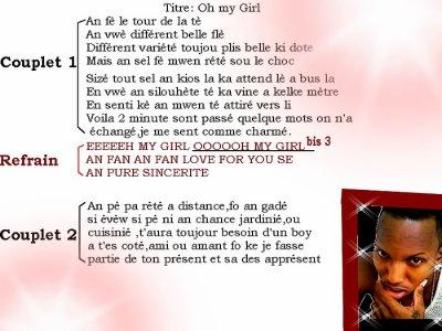 OH MY GIRL-Son de la compilation[Tropic Tune]en préparation-la version_maquète_en_écoute