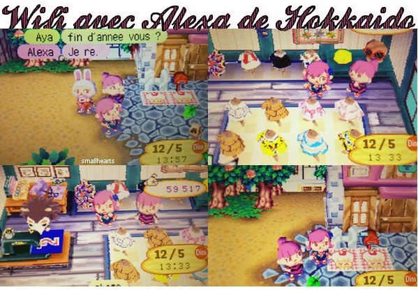 ♥ 12/05/13: Wifi avec Alexa et Aya ♥