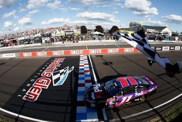 Victoire de Denny Hamlin à Watkins Glen.