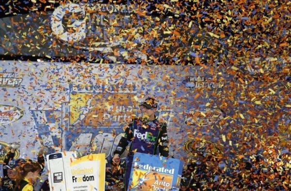 Victoire de Denny Hamlin à RICHMOND.