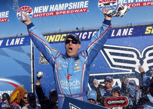 Victoire de Kevin Harvick dans le New Hampshire !