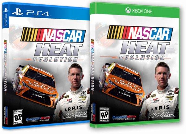 NASCAR HEAT EVOLUTION / La NASCAR et les jeux vidéos.
