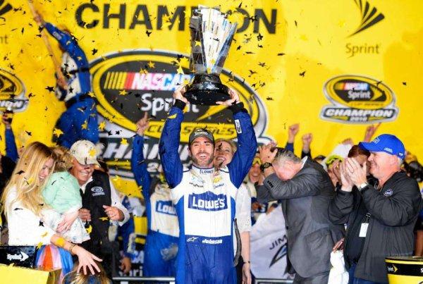 !!!!!!!!! Jimmie Johnson CHAMPION 2016 NASCAR SPRINT CUP !!!!!!!!!