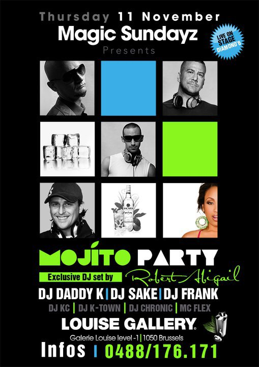 Ce 11/11 MAGIC SUNDAYZ - MOJITO PARTY