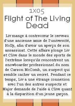 Episode 1x05 ~ Flight Of The Living Dead