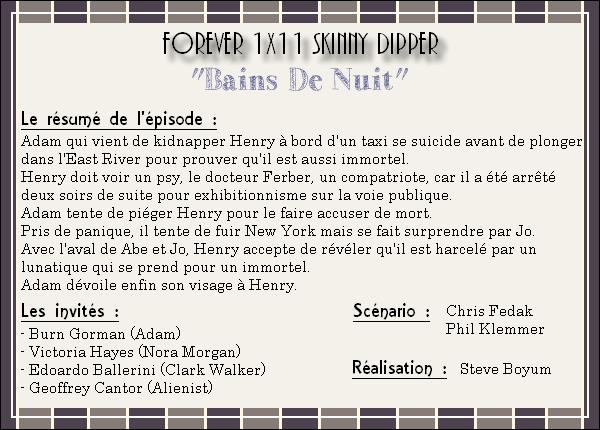 Episode 11 ~ Skinny Dipper
