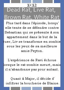 Episode 1x12 ~ Dead Rat Live Rat Brown Rat White Rat