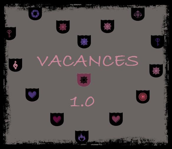 Vacances 1.0 ♥
