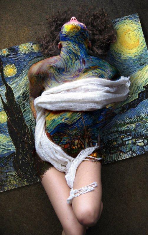 """Si J'etais une peinture : """"La nuit etoilée"""" de Vincent Van Gogh."""