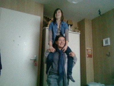 Perrine et moi <3