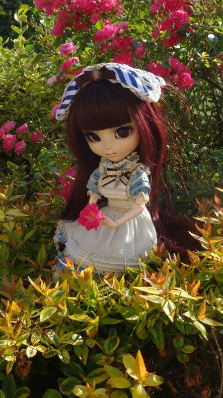 April dans le Jardin
