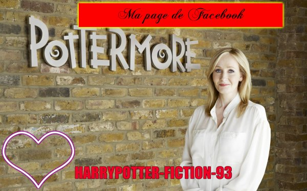 Ma page de facebook ''Le monde magic Harry Potter ''