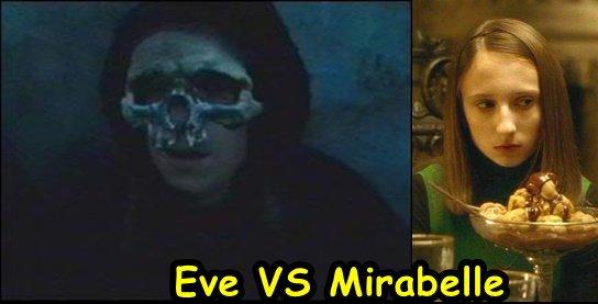 Chapitre 14: Mirabelle Lestrange contre Eve Jedusor(la fille de Voldemort)