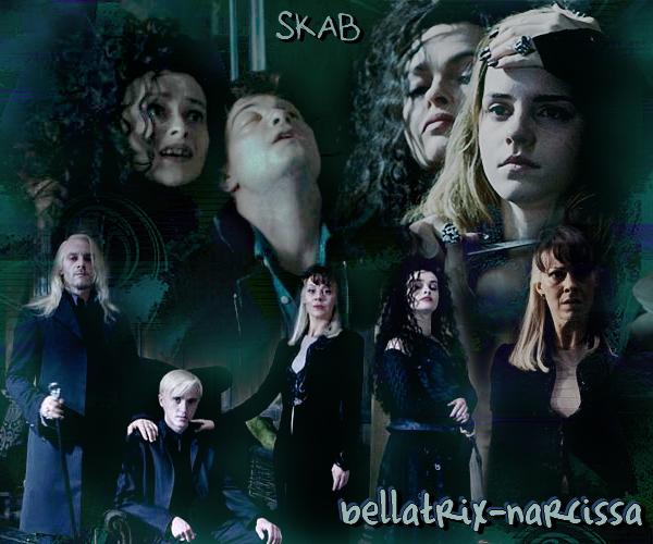 Famille Malefoy et Bellatrix Lestrange (l)