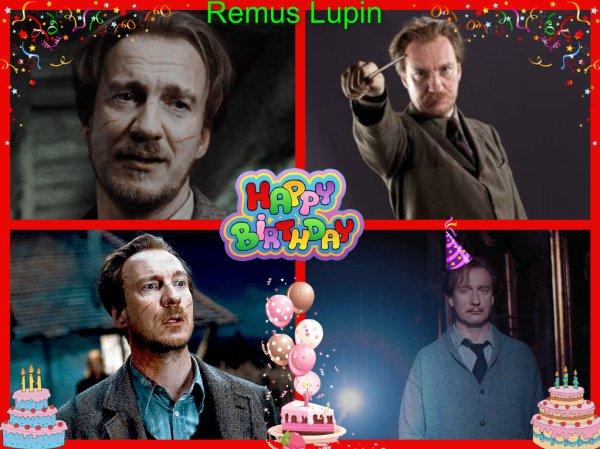 (l) Joyeux anniversaire Remus Lupin 56 ans (l) 1960-1998 RIP (l)