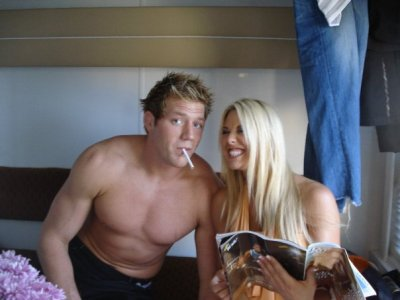 Jack Swagger and Tiffany