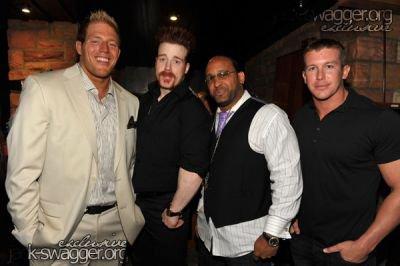Jack Swagger , Sheamus , MVP et Ted Dibiasi