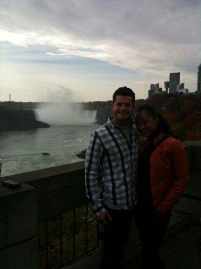 Evan Borne et Gail Kim