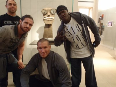 Santino Morella , John Morrison , Randy Orton and R-Truth