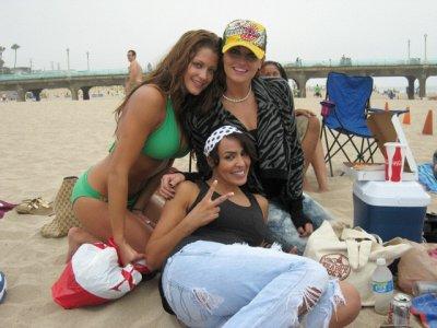 Eve Torres , Maria et Layla