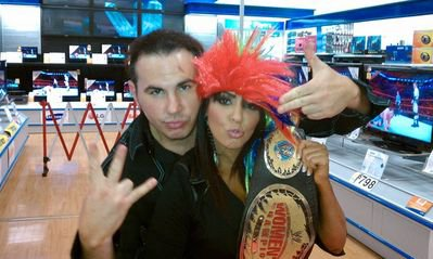 Matt Hardy and Layla