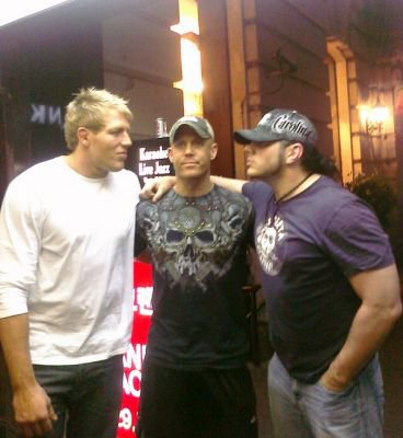 Jack Swagger , M.Anderson and Matt Hardy