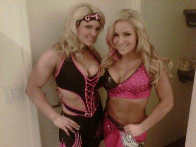 Beth Phoenix and Natalia
