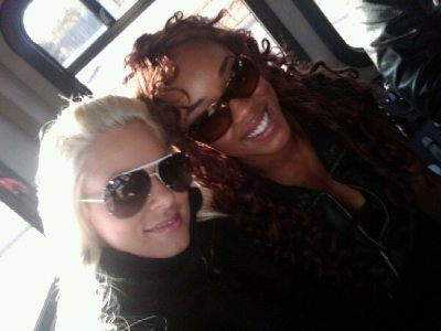 Maryse et Alicia Fox