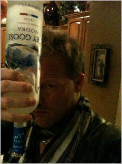 Chris Jericho et sa Vodka ( C pas Bien =)