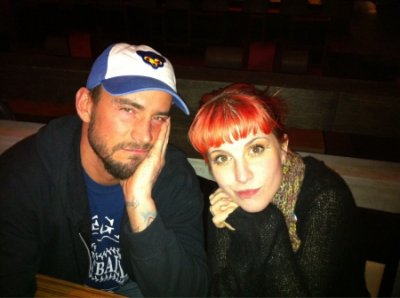 CM Punk et La Chanteuse de Paramore (Hayley Williams)