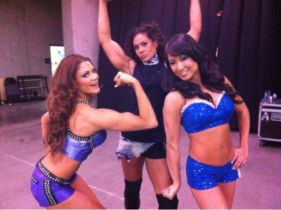 Eve Torres, Gail Kim ,Tamina