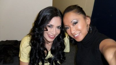 Melina et Gail Kim