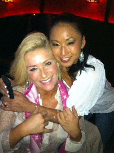 Natalia et Gail Kim