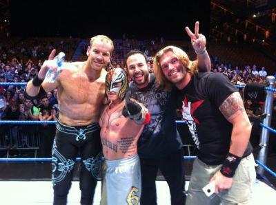 Christian, Rey, Chavo et Edge