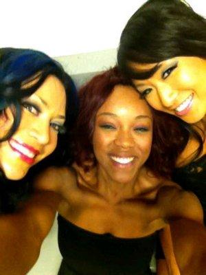 Melina, Alicia et Gail Kim