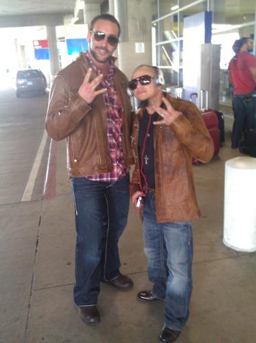 Chris et Rey Rey